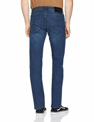 Armani Exchange Herren Cotton Stretch Indigo Blue Denim, Straight Jeans