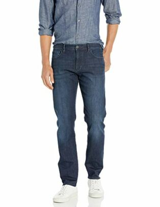 Armani Exchange Herren Cotton Stretch Straight Jeans