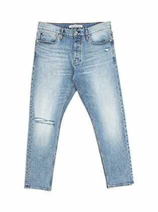 Calvin Klein J30J312380-026 Slim Crop Jeans Herren Denim Light Blue 29